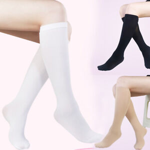 Fashion Women Girl Long Socks Lower Knee Thigh High Stockings Casual Socks