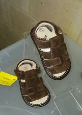 Brown Suede Sandals Sizes 3, 8 & 10
