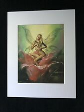 """Blooming"" by Boris Vallejo 1994 11 x 14 Matted Print"