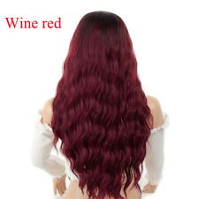 Wave Women  Hair Wigs For Cosplay Costume Party High Temperature Wire Synthetic
