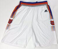 Russell Athletic Bulldogs Fastbreak Basketball Practice Short Men's Large White