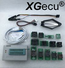 XGecu TL866II Programmer PLUS for SPI Flash NAND EPROM MCU AVR+13 adapter+clip