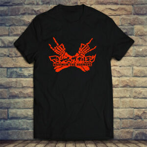 Maximum the Hormone Rock Band Logo Men's T-shirt Tee Size S-2XL