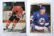1997-98 Pacific #316 Zhamnov Alexei  ice blue  blackhawks