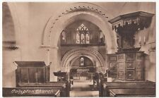 Surrey, Compton Church Interior PPC Unposted Early Card by Frith