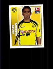 Lucas Barrios  Borussia Dortmund TOPPS Sammelbild Original Signiert+ A 152615