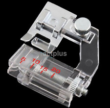 Multi-function Binding Snap-on Bias Binder Presser Foot for Sewing Machine