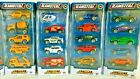 5 PACK DIE CAST METAL STREET MACHINES CAR JEEP TRUCK POLICE FIRE HELICOPTER TOY