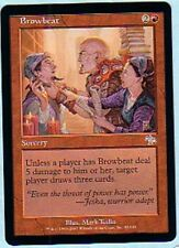 MTG 4X JUDGMENT BROWBEAT MINT MAGIC THE GATHERING RED UNCOMMON SORCERY ENGLISH