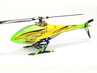 Xtreme Blade 130 X Green Complete Head & Tail Fuselage Canopy B130X31-GY
