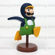 Furuta 2011 Nintendo Super Mario Bros Choco Egg Figure Toy Penguin Luigi