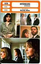 FICHE CINEMA : INTERIEURS - Griffith,Keaton,Allen 1978 Interiors