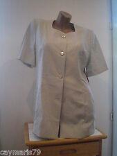 ARTICULO NUEVO bonita CHAQUETA mujer TALLA 44 MANGA CORTA jacket woman blazer
