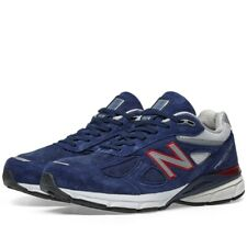 """MEN""""S NEW BALANCE M990BR4 RUNNING COURSE BLUE/RED-WHITE"""