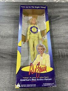 """Dr. Laura Schlessinger Talking 11"""" Action Figure Doll With Box"""