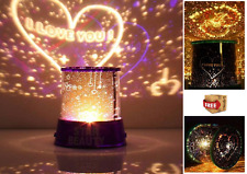 Night Sky Projector Lamp Master Kids Gift Romantic Night with USB Cable