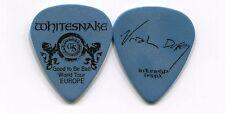 WHITESNAKE 2008 Bad Tour Guitar Pick!!! URIAH DUFFY custom concert stage EUROPE