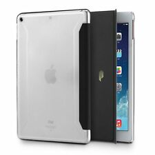 For Apple iPad 9.7 (2017) Poetic Slimline Series Case Stand Folio Cover Black