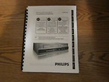 philips tv video home audio manual resources ebay rh ebay com Philips Product Manuals Philips Universal Remote Code Manual