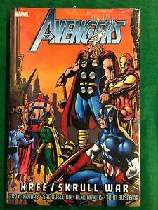 Avengers Kree/Skrull War SEALED HARDCOVER Thor, Iron Man Marvel Comics (T 2944)