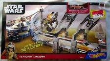 Star Wars Hot Wheels Tie Factory Takedown Playset ,NEW.UNOPENED