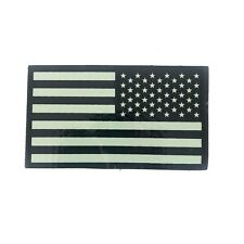 Infrared Reverse US Flag Patch IR Army Navy Air Force SEAL, VELCRO® Brand