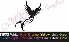 ** PHOENIX ** Car Decal, Vinyl, Drift Sticker, JDM, EURO, DUB, Tribal Bird