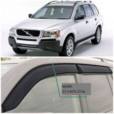 VE10203 Window Visors Sun Guard Vent Wide Deflectors For Volvo XC90 2003-2014