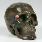 """2.0"""" Plumite Carved Crystal Skull, Realistic, Crystal Healing"""