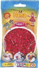 Hama - 207-29 - Sachet 1000 Perles Rouge Lie-De-Vin
