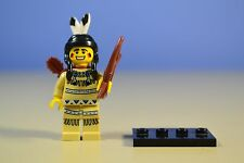 LEGO MINIFIGURES SERIES 1 8683 - Tribal Hunter (Indian)