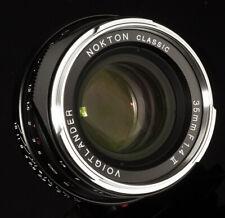 VOIGTLANDER USA WARRANTY NOKTON 35mm f1.4 II MC Ver 2 Leica M Free Next Day