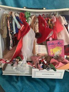 Vintage Mattel Ponytail 5/6? 1963 Blond Skipper Combo Rare Clothes +Accessories