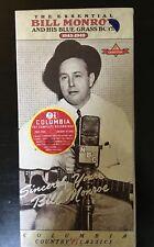 (new sealed) BILL MONROE 2 Cass Columbia, 1945-1949 C2T 52478 Bluegrass