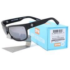 Spy 673225374329 POLARIZED HAPPY 20 FORE Matte Black Platinum Mirror Sunglasses
