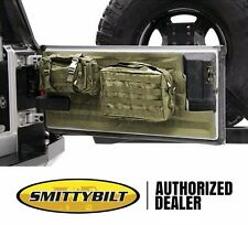 Smittybilt G.E.A.R. MOLLE Tailgate Cover and 2 Pouches 97-06 Jeep Wrangler TJ LJ