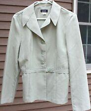 Woman's Green Blazer by Spago; Size:  10
