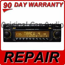 repair 1999 - 2008 porsche single cd player cdr-220 cdr-23 cdr-
