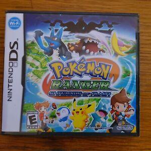 Pokemon Ranger: Shadows of Almia (Nintendo DS, 2008) Brand New Sealed in Wrap