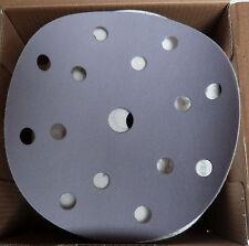 Lot 100 disque a poncer carrosserie diam 150 grain 180 velcro produit pro neuf