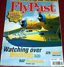 Flypast 1999 April Saab J29,Hooton Park,Sunderland