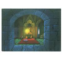 Disneyland Gallery Vintage Promo Postcard Eyvind Earle Sleeping Beauty 1988