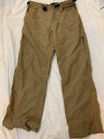 PrAna Casual Khaki Pants Men's Size Large Super Soft Hiking N3