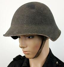 (No1) VINTAGE WW1 / WW2 M18 SWISS ARMED FORCES STEEL HELMET