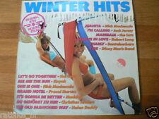 LP RECORD VINYL PIN-UP GIRL WINTERHITS THE CATS,KAYAK,PROCOL HARUM,MADDOG