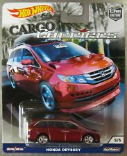 Hot Wheels Cargo Carriers HONDA ODYSSEY with REAL RIDERS ** IN HAND ** !!