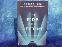 The Ride Of A Lifetime - Robert Iger CEO Walt Disney HB BOOK Creative leadership