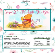 16 Winnie the Pooh Hershey Candy Bar Wrapper Personalized Baby Shower Birthday