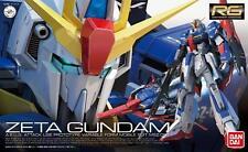 Gunpla 1/144 BANDAI Gundam RG MSZ-006 Zeta Gundam AEUG Attack Use
