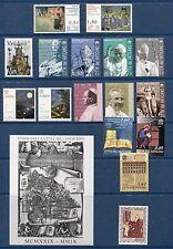 Vatican City 2009 Complete Year Set NH - Scott 1402-1433